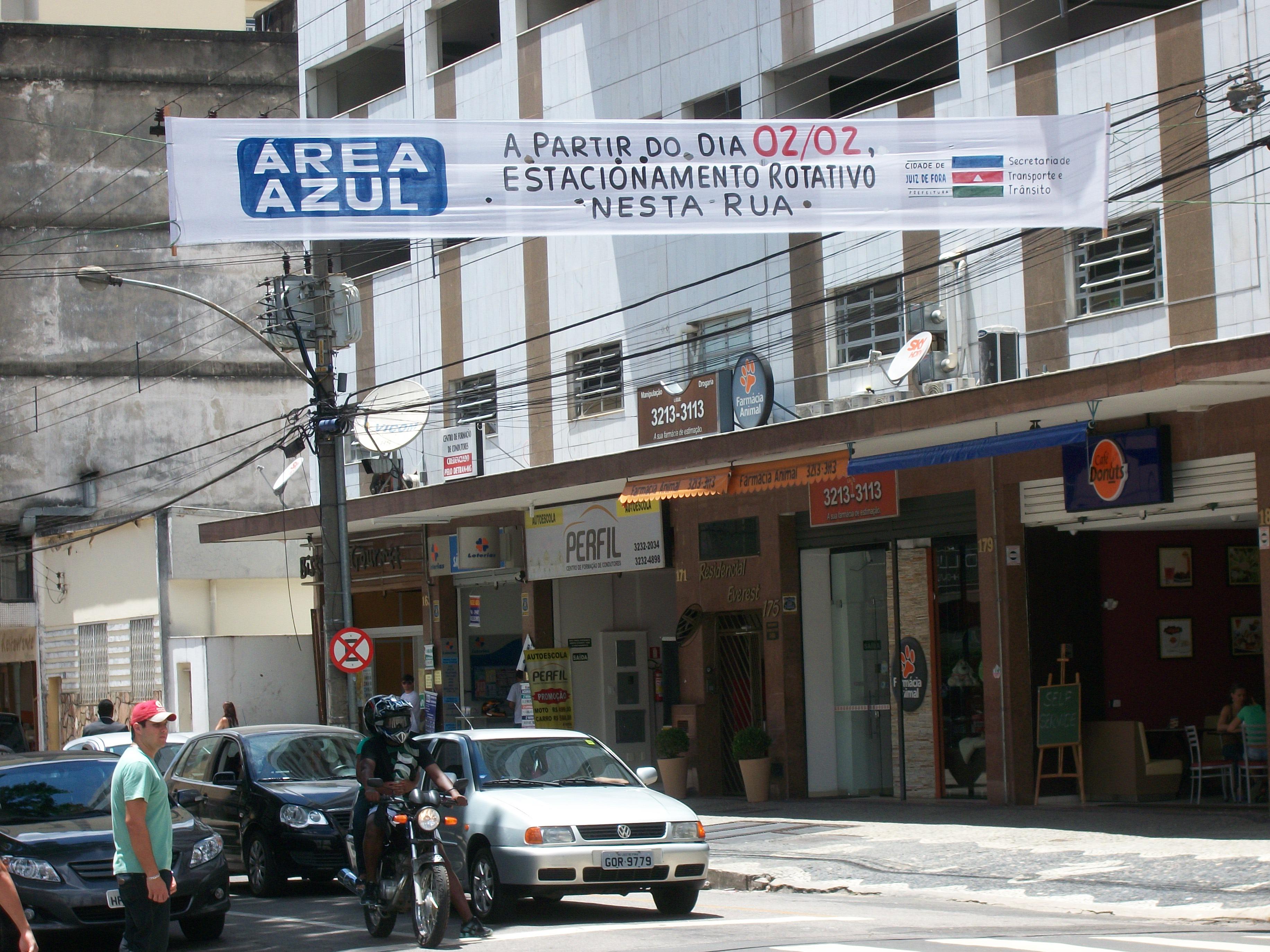 FileFaixa Sobre A Rua Padre Caf Implantao De Estacionamento Rotativo