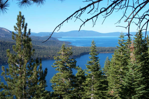 File Fallen Leaf Lake And Lake Tahoe South Shore Jpg