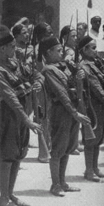 Arab Lictor Youth (GAL) members. GAL-Arab Lictor Youth in uniforms.PNG