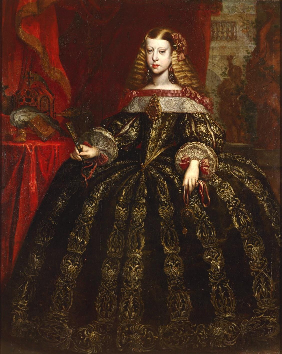 Infanta Margarita Teresa, por Gerard Du Chateau