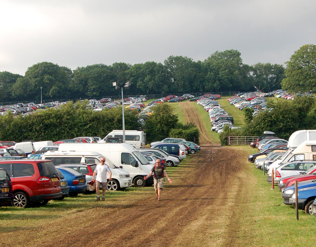 Glastonbury Festival Car Parking