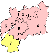 Location of Gloucestershire