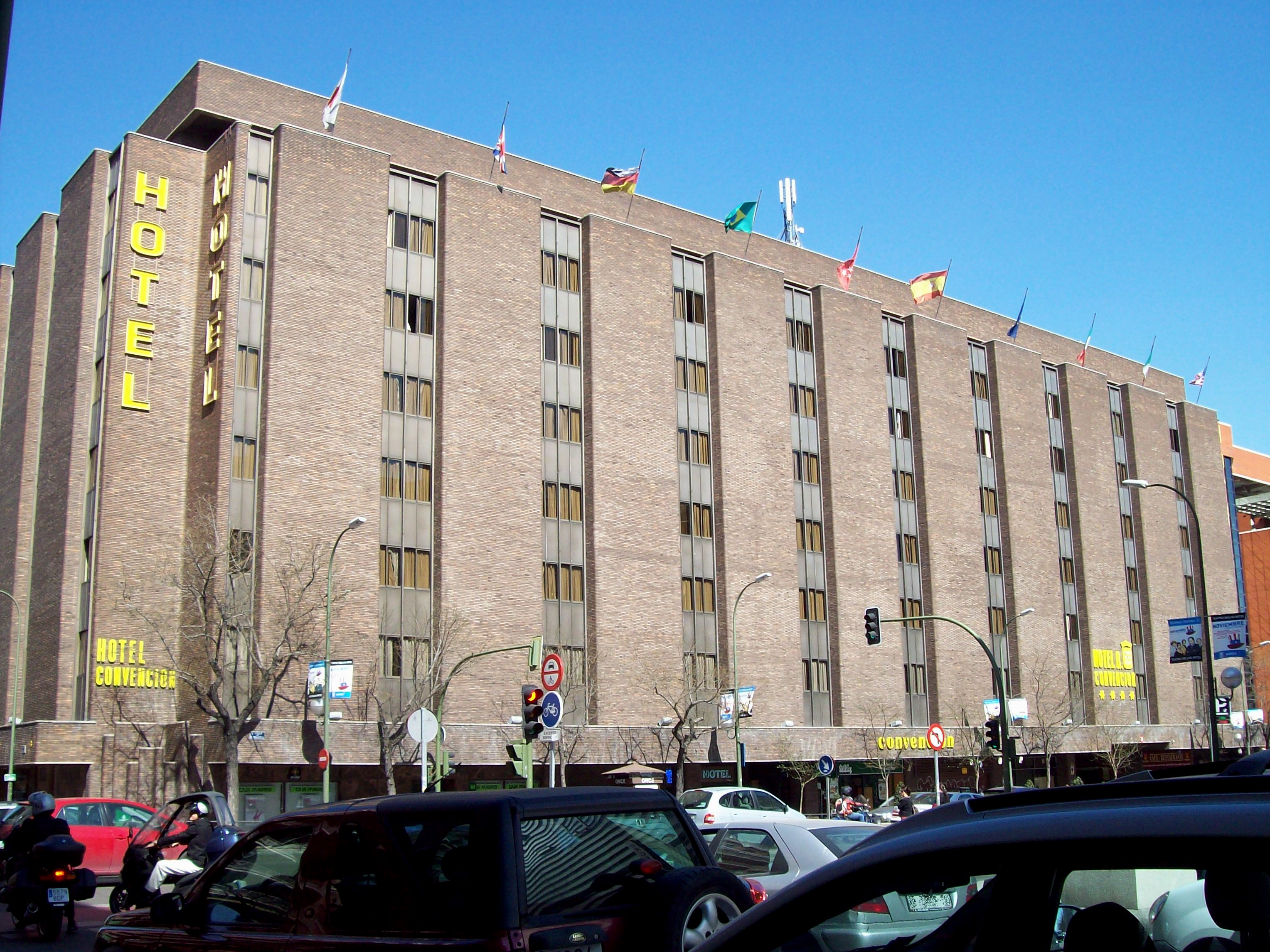 Hotel Convencion Budget Hotel In Madrid Center 4 Star