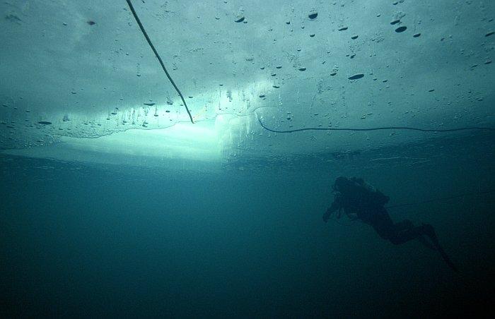 ANNULE Du 11 au 14 Décembre 2020  Plongée sous glace et en Altitude