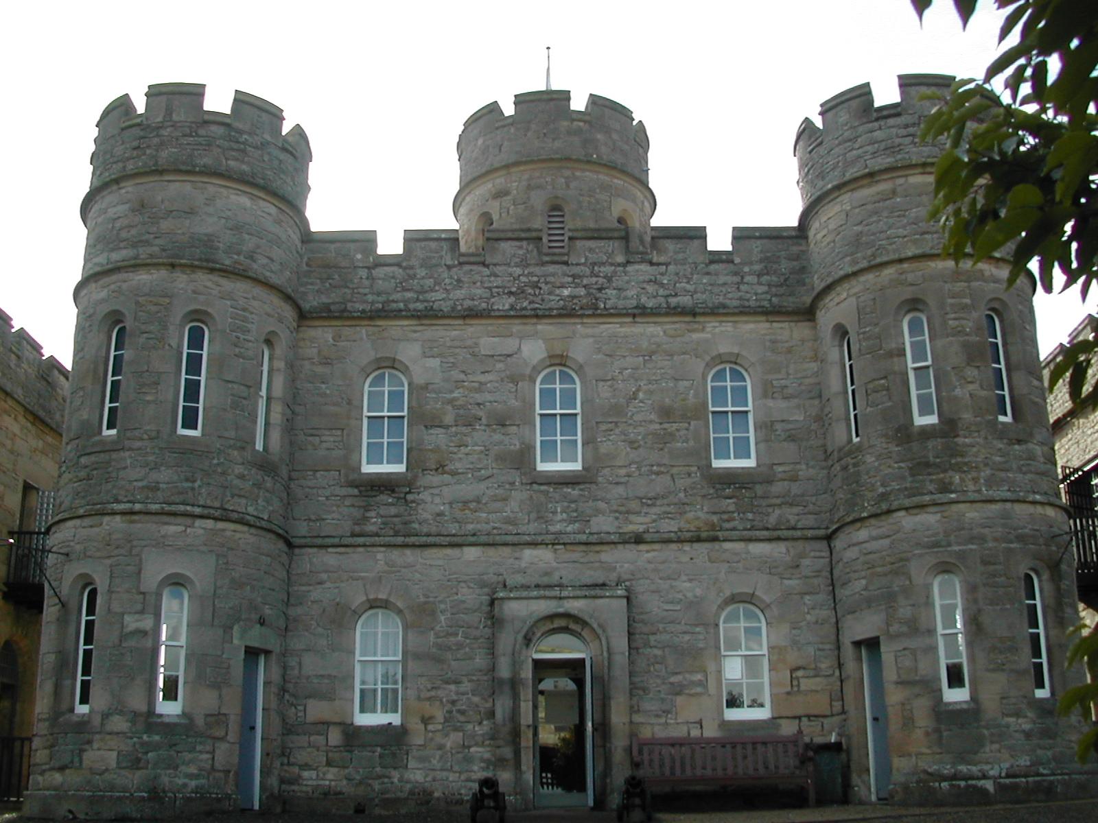 Front of Jedburgh Castle