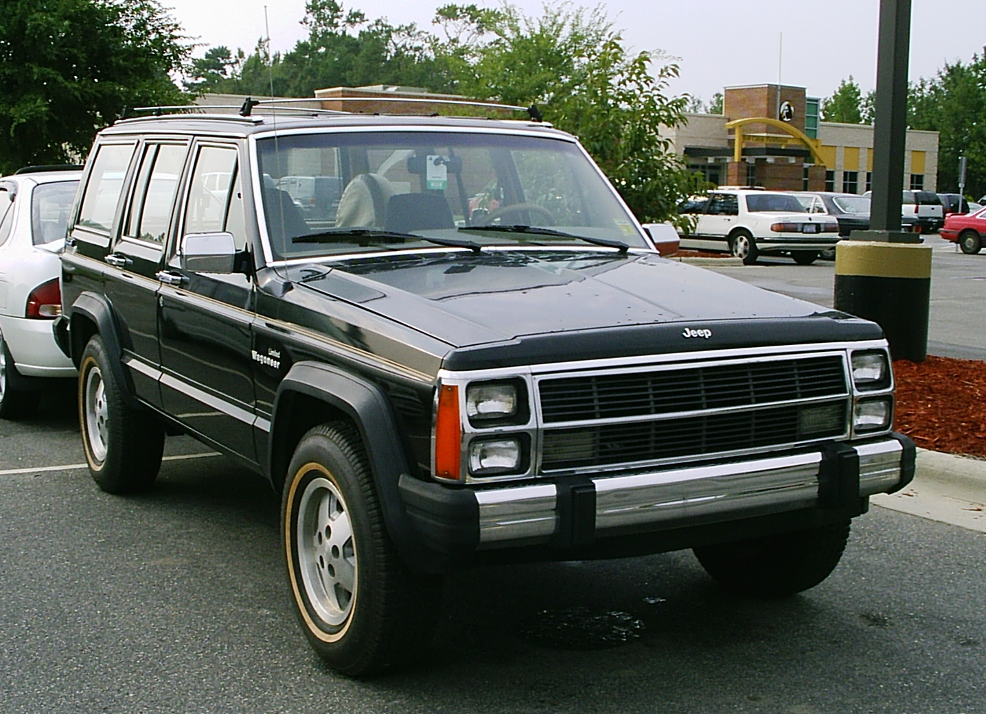 File Jeep Xj Wagoneer Limited Black 1 Jpg Wikimedia
