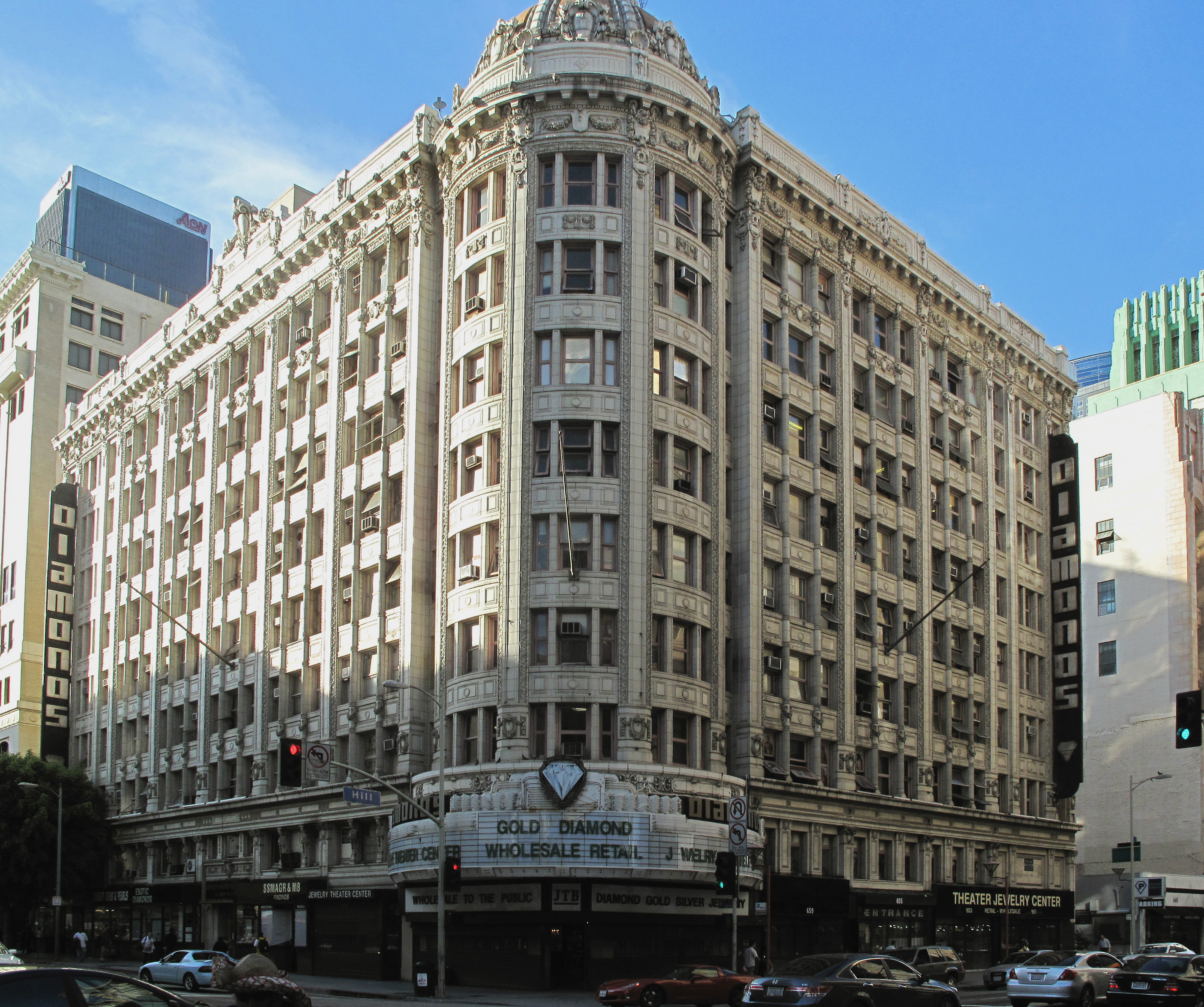 Los Angeles Mall: File:Jewelry Theater Center, 7th & Hill, Los Angeles.jpg