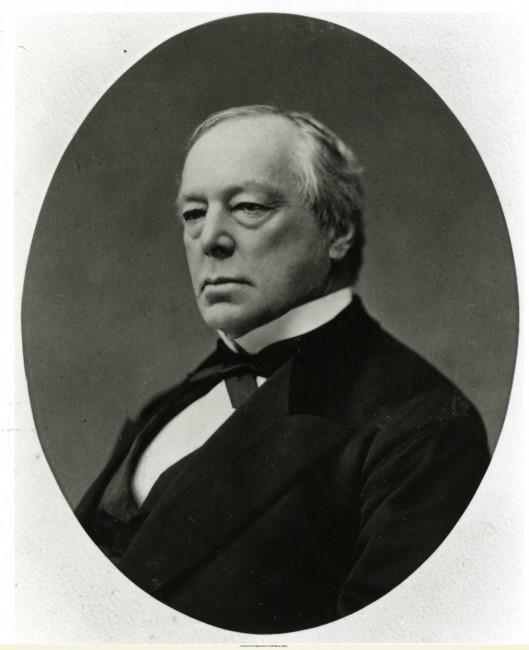 portrait of Joseph Battell, a college trustee