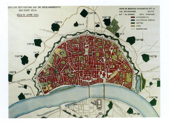 File:Köln Grundriss und Befestigungen 1880.jpg - Wikimedia ...