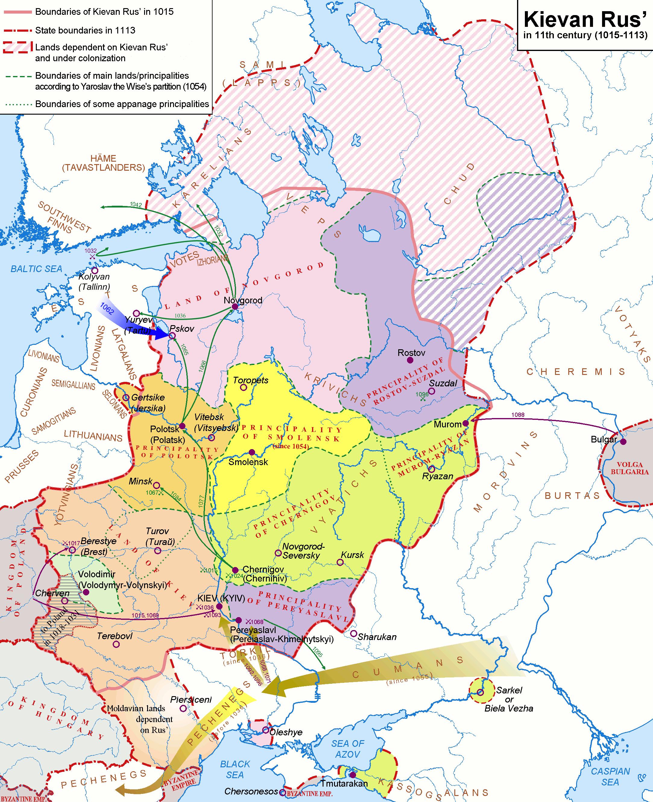 Kievan Rus  Wikipedia