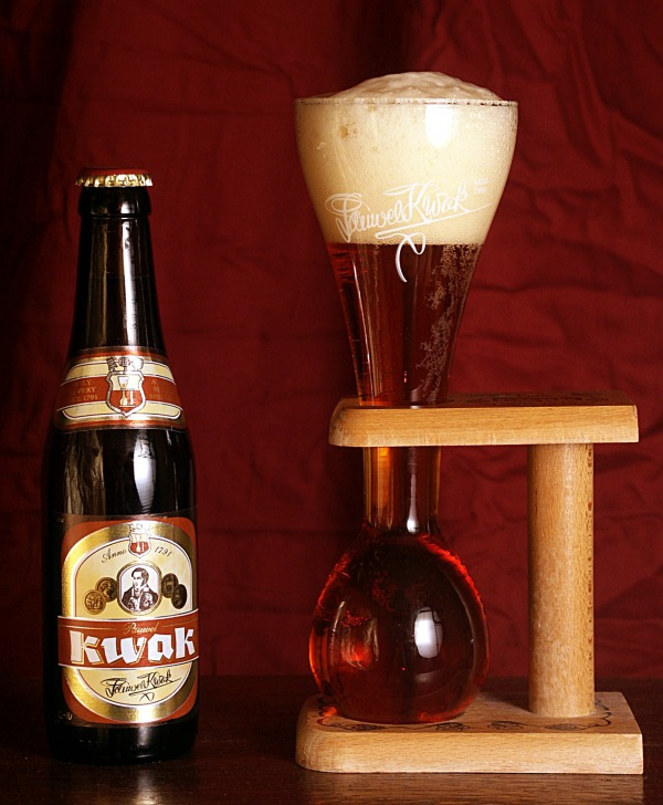 Kwak med glass