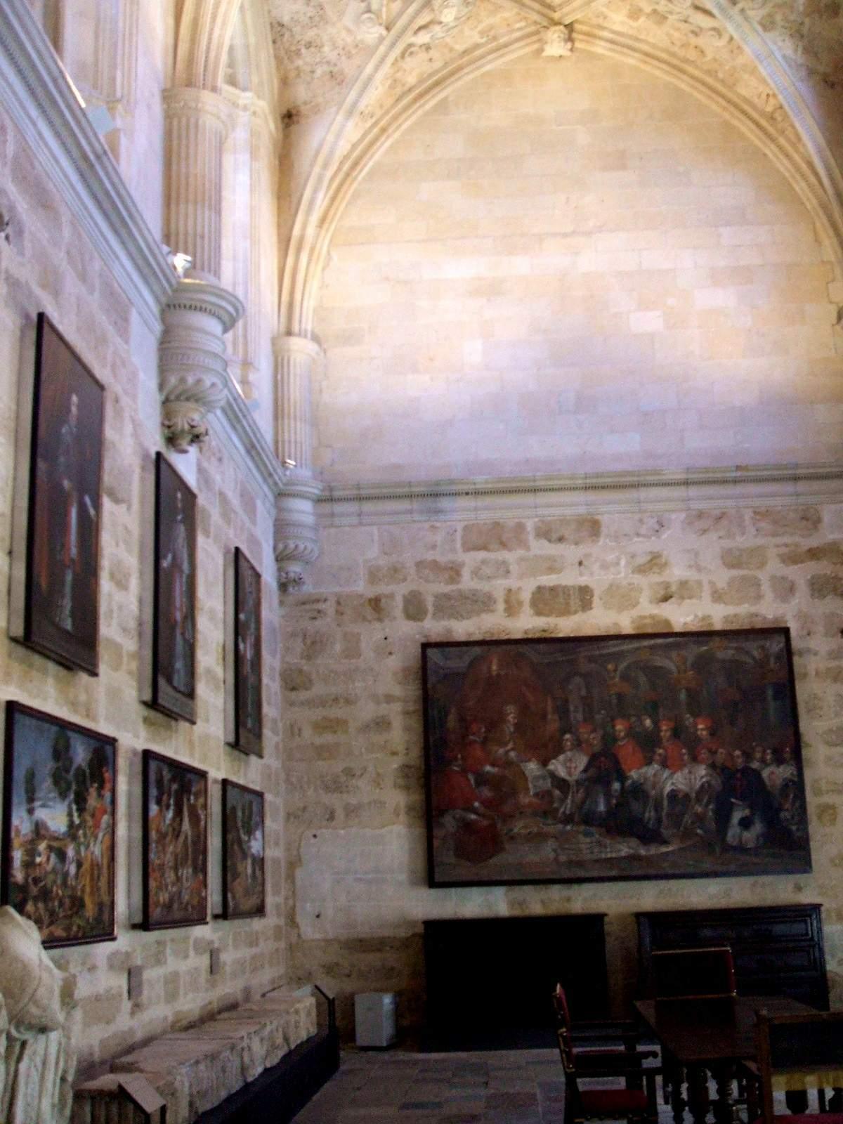 File:León - Convento-Parador de San Marcos, antigua postsacristía ...
