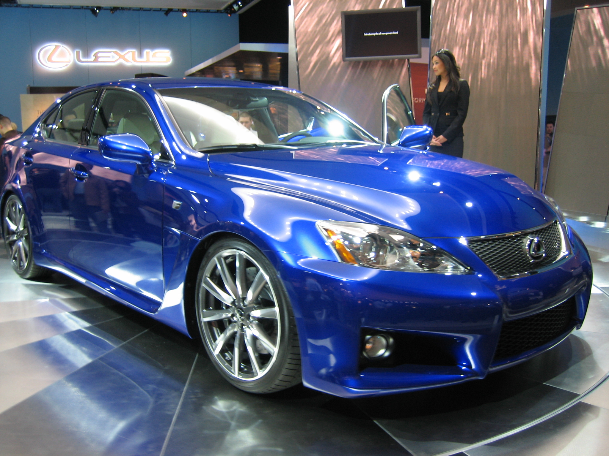 File Lexus Is F Ultrasonic Blue Metallic Jpg Wikimedia