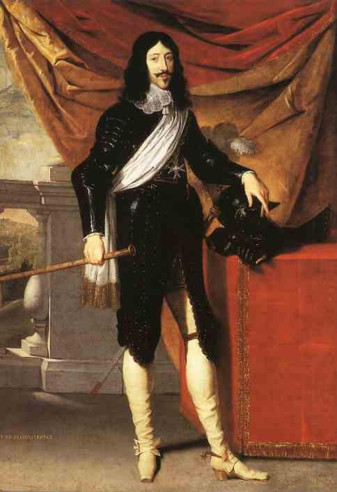 Louis XIII of France, also Louis II of Navarre, also called Louis the Just, King of France and Navarre