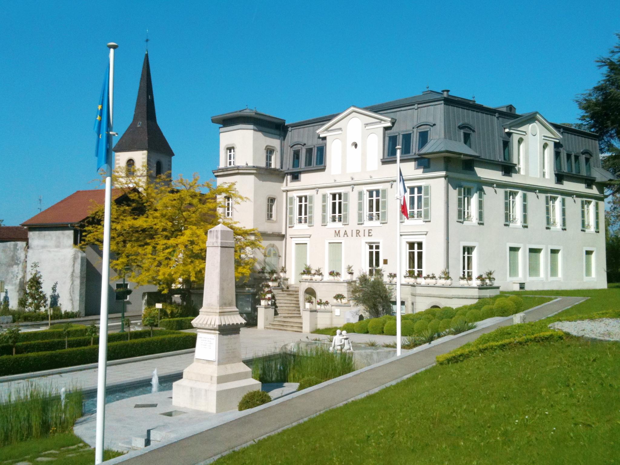 File mairie de publier haute savoie jpg wikimedia commons - Chambre des notaires haute savoie ...