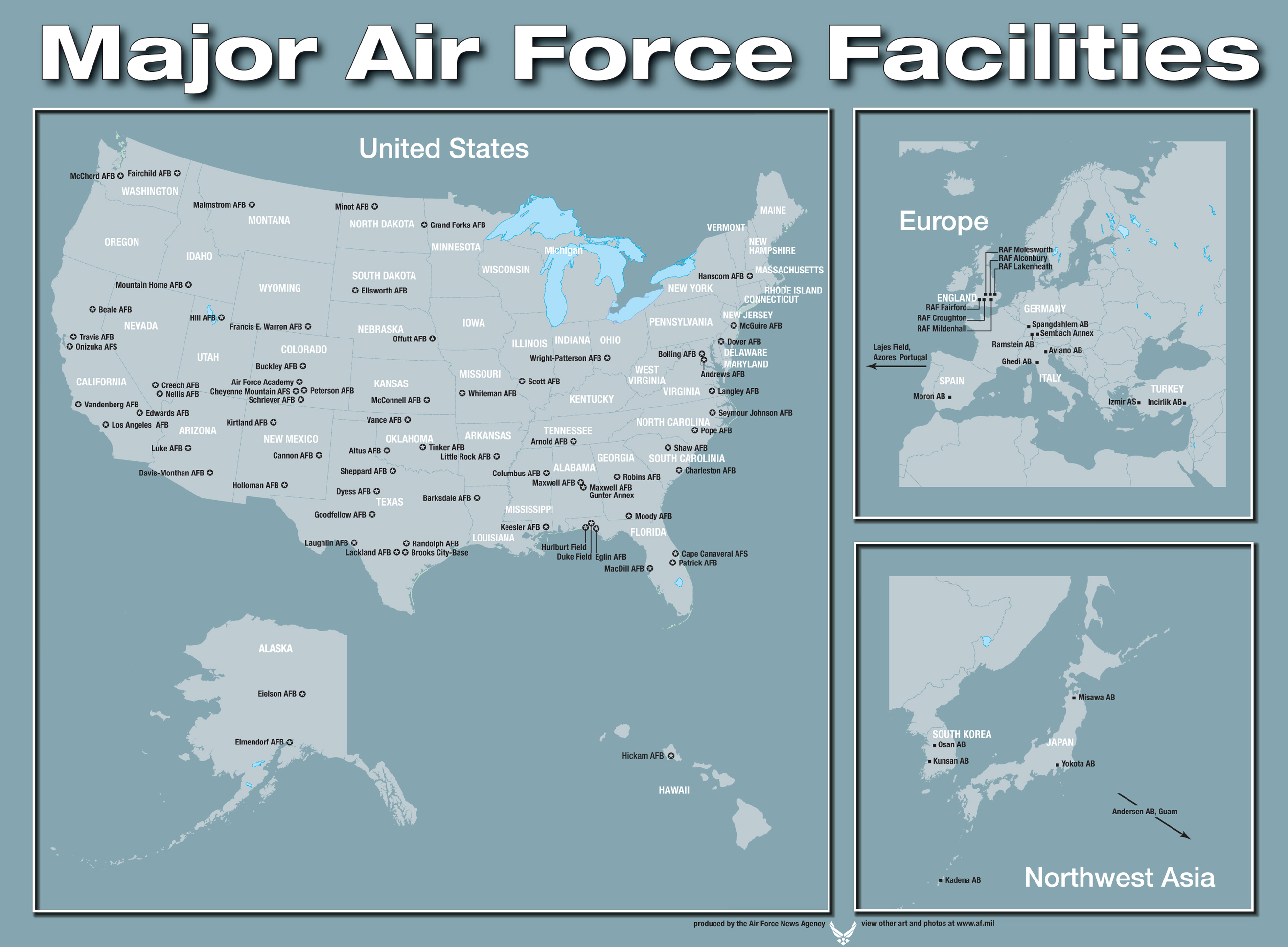 File Major United States Air Force Facilities Around The Gloabe Jpg