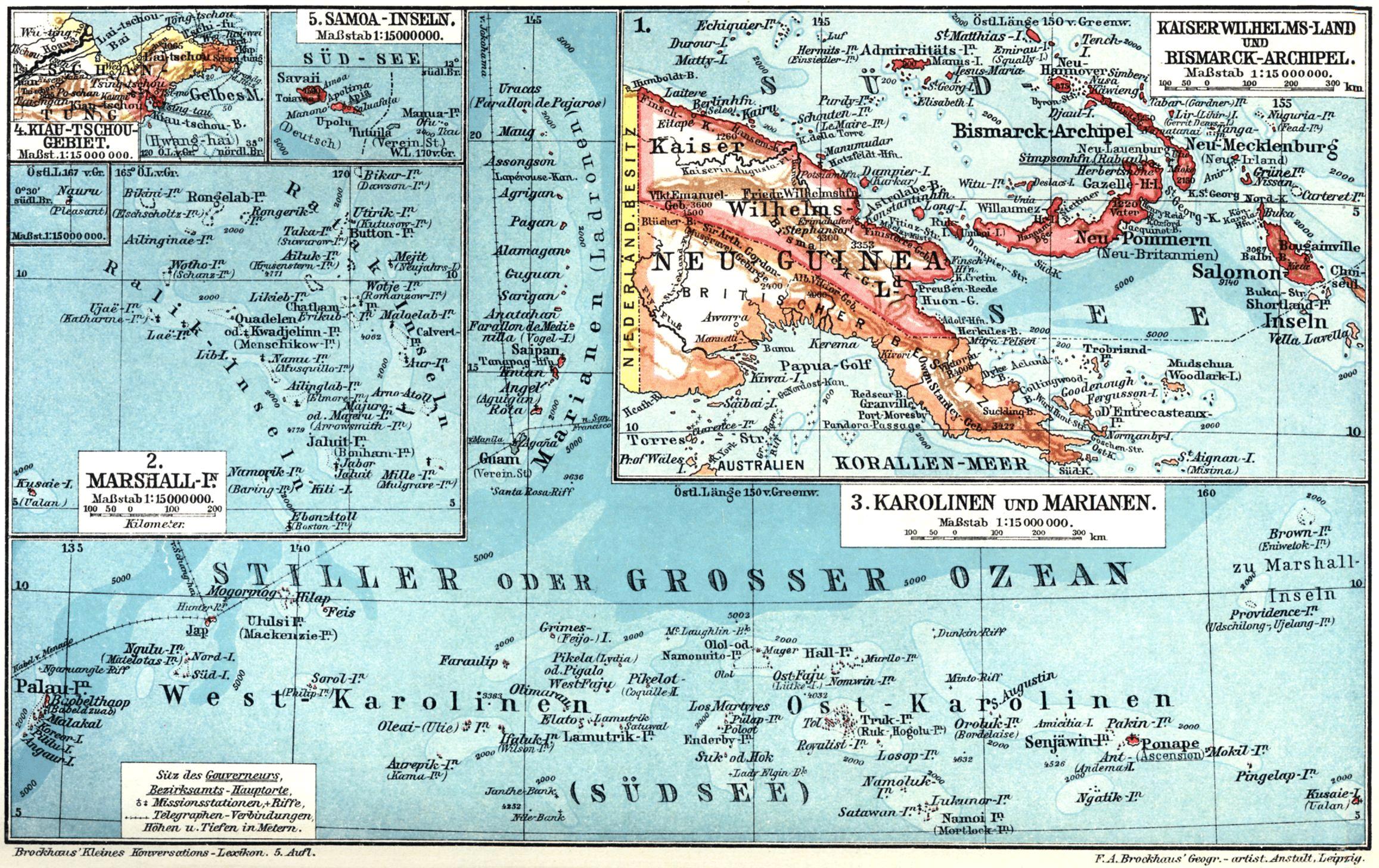 List Of Former German Colonies