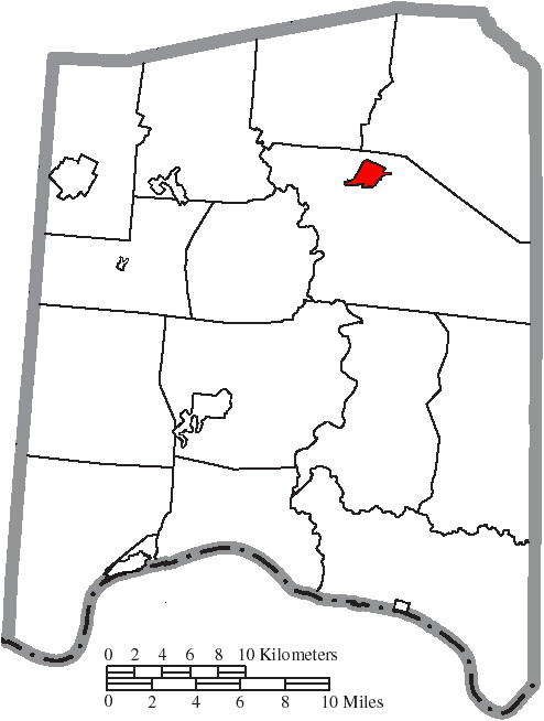 File Map Of Adams County Ohio Highlighting Peebles Village Png
