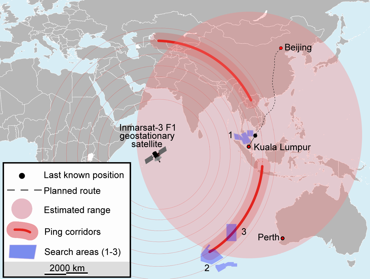 [Speculations] vol mh370 intriguant - Page 9 Map_of_search_for_MH370