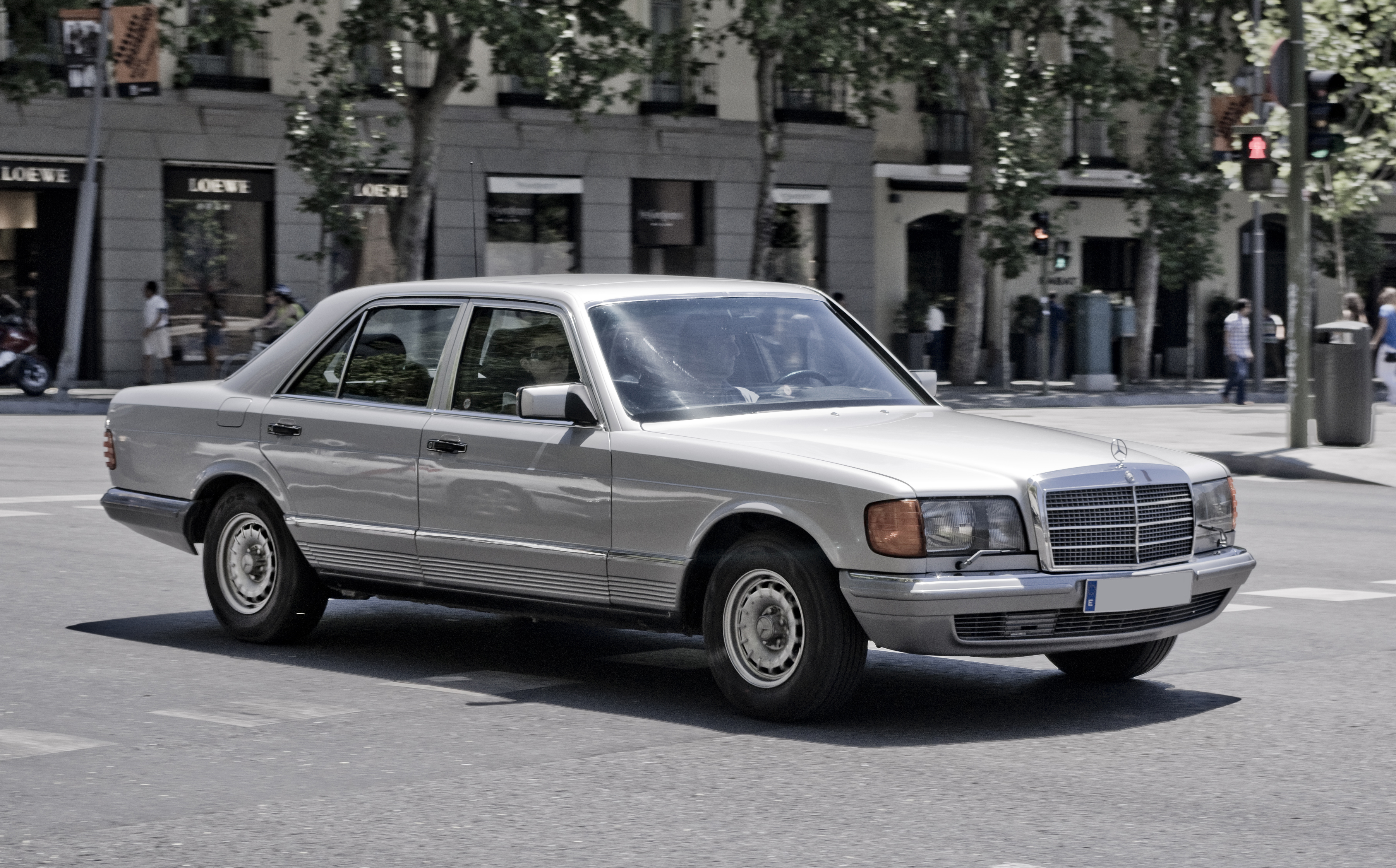 W126 im Alltag