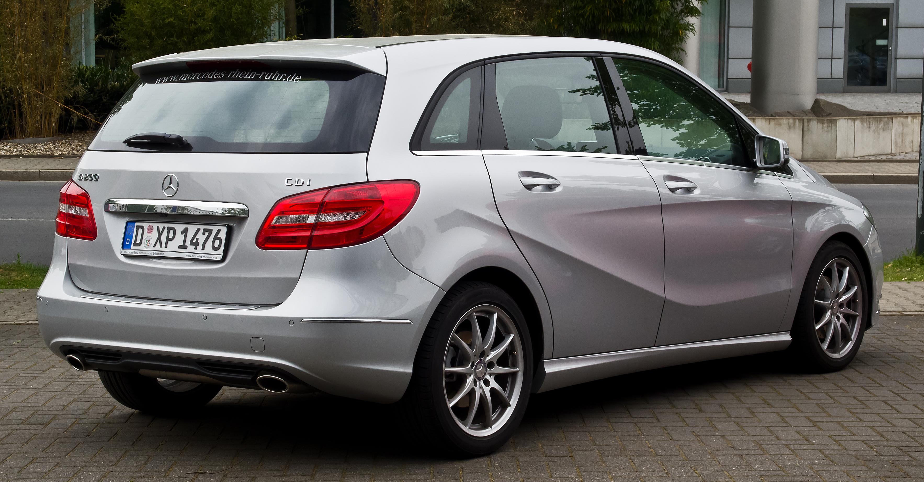 Mercedes Benz B Klasse Diesel