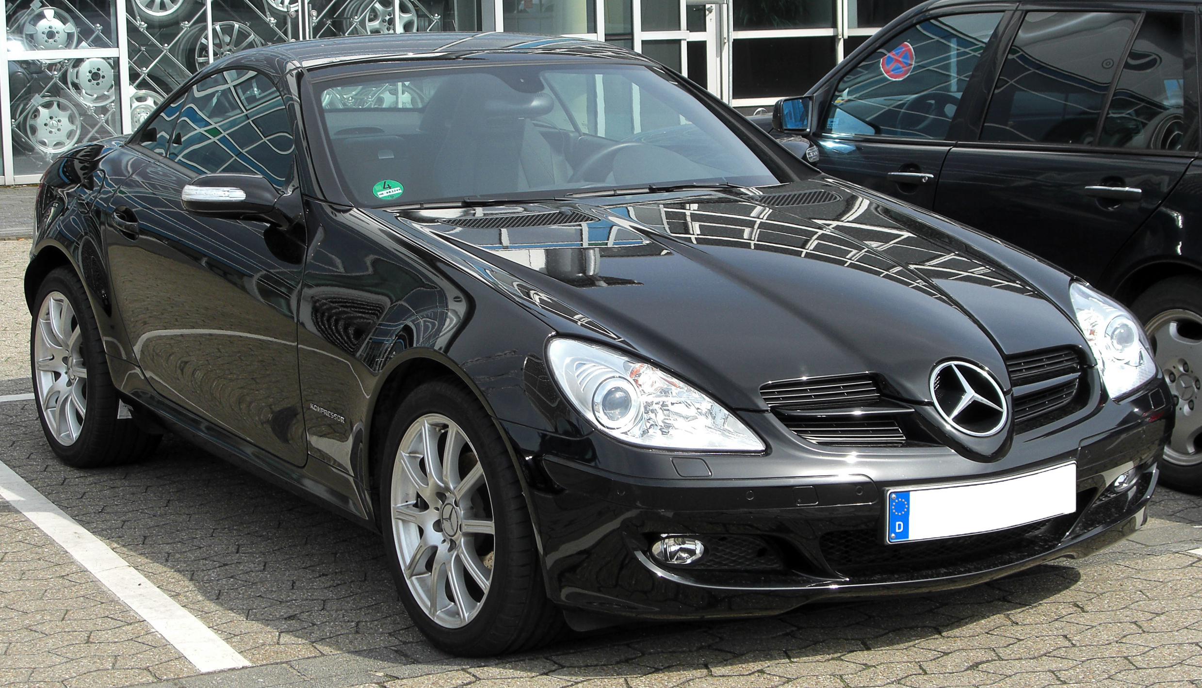 file mercedes slk 200 kompressor r171 front. Black Bedroom Furniture Sets. Home Design Ideas