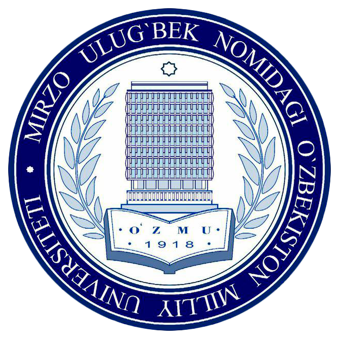 Logo of National University of Uzbekistan