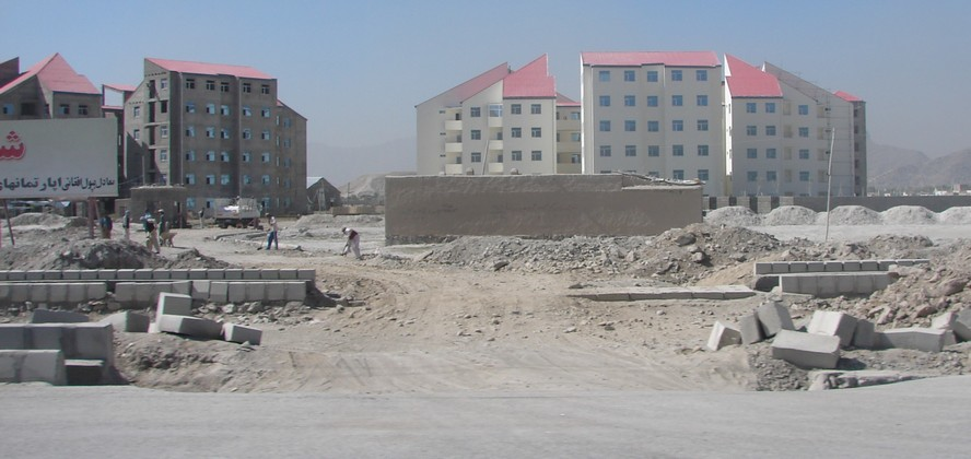 kabul city. Blocks in Kabul City.jpg