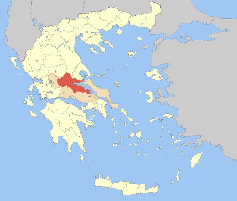 Phthiotis within Greece