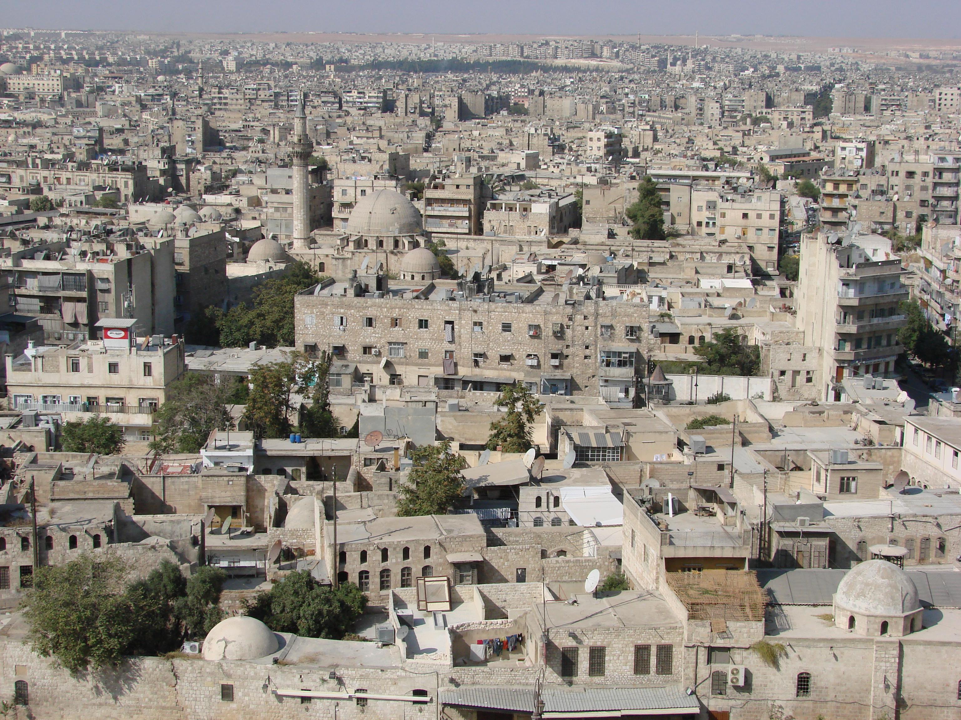 [003,0K] Kotunga Old_Aleppo_from_the_citadel