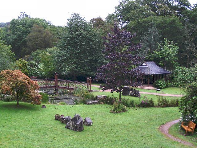 Oriental garden in Bryngarw Country Park - geograph.org.uk - 550728