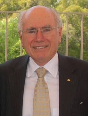 John Howard in Coffs Harbour, NSW Australia in...