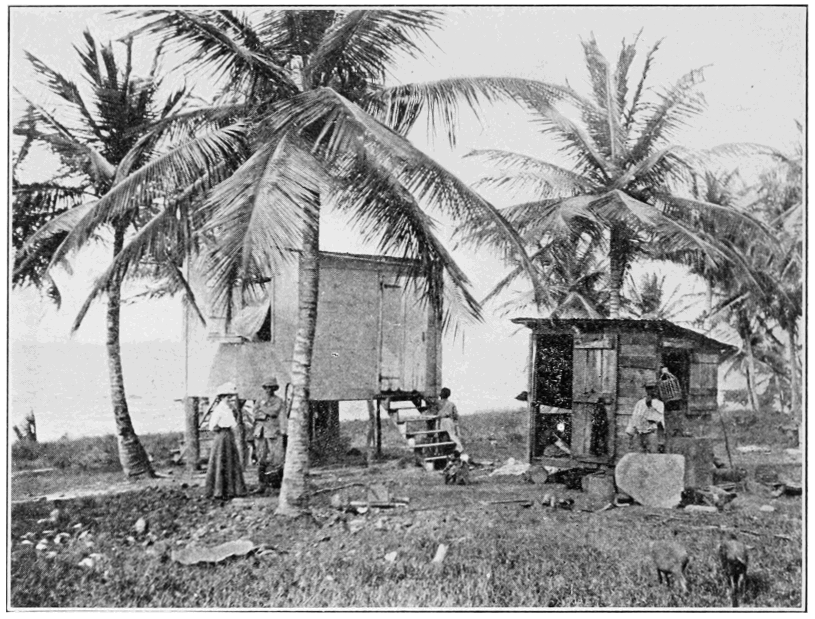 PSM V81 D038 Laborers quarters at point dor.png