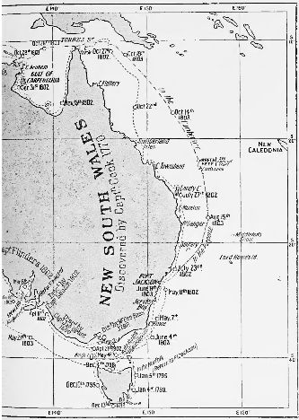 Page 354 map (The Life of Matthew Flinders).jpg