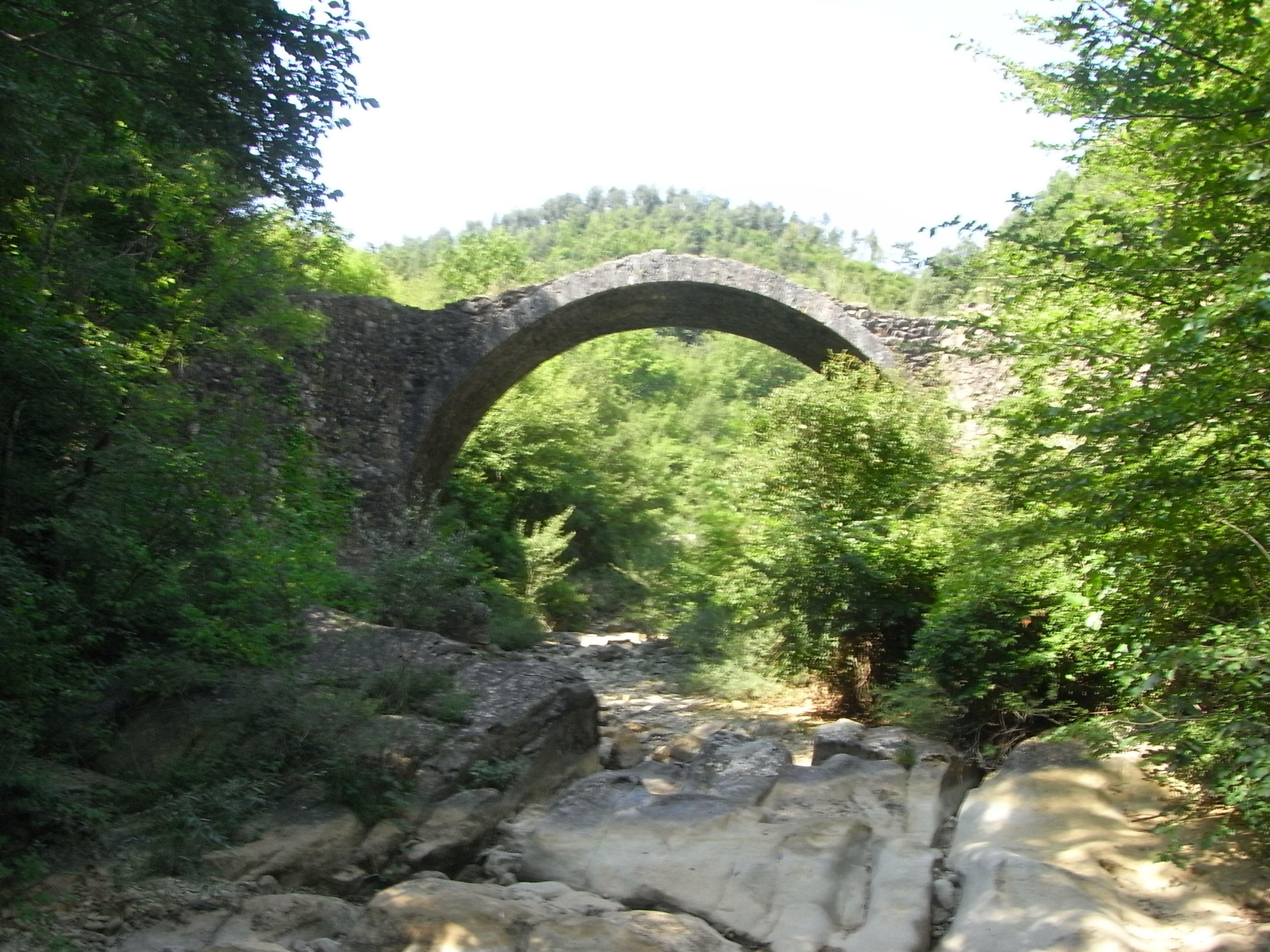 Ponte della Pia, Rosia, Montagnola Senese