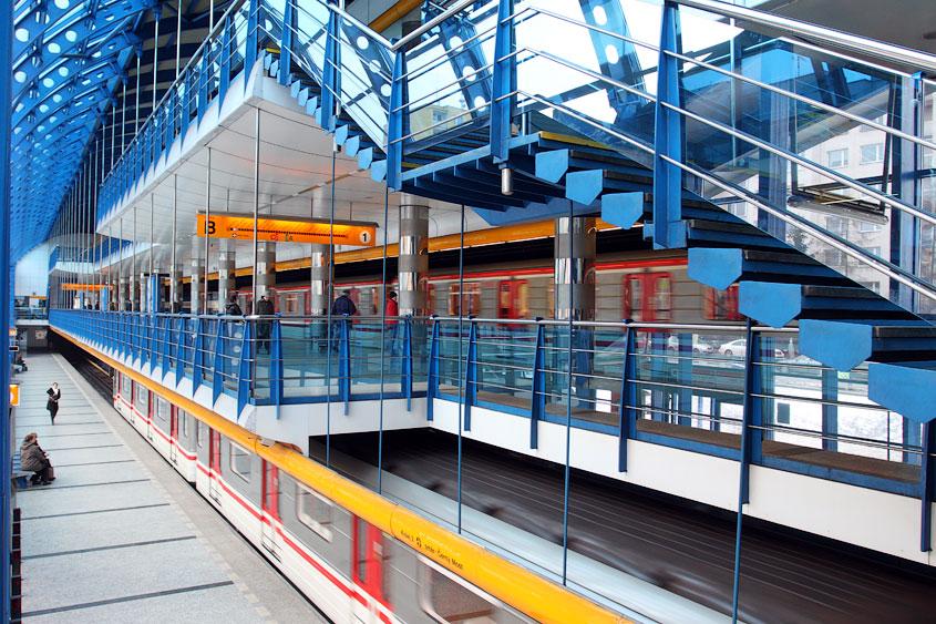 Rajská zahrada metro