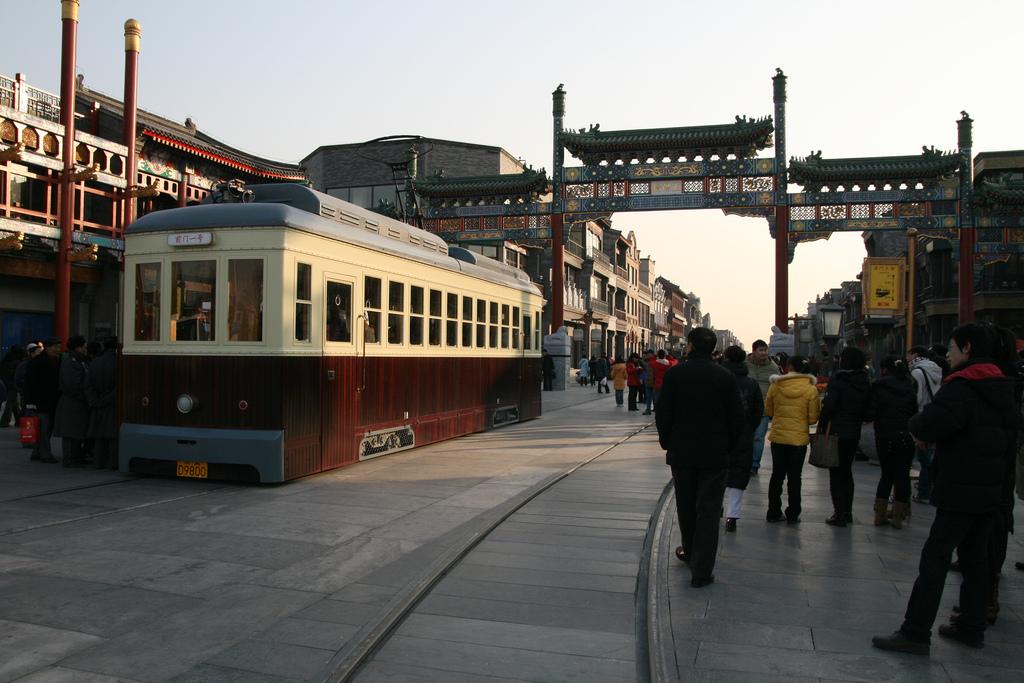 Resultado de imagen para calle de qianmen