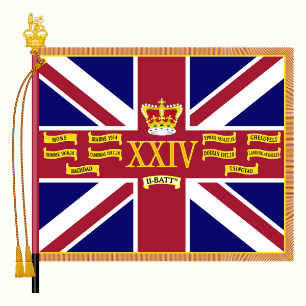 File:Queens Colour-2Bn-24th Foot.png
