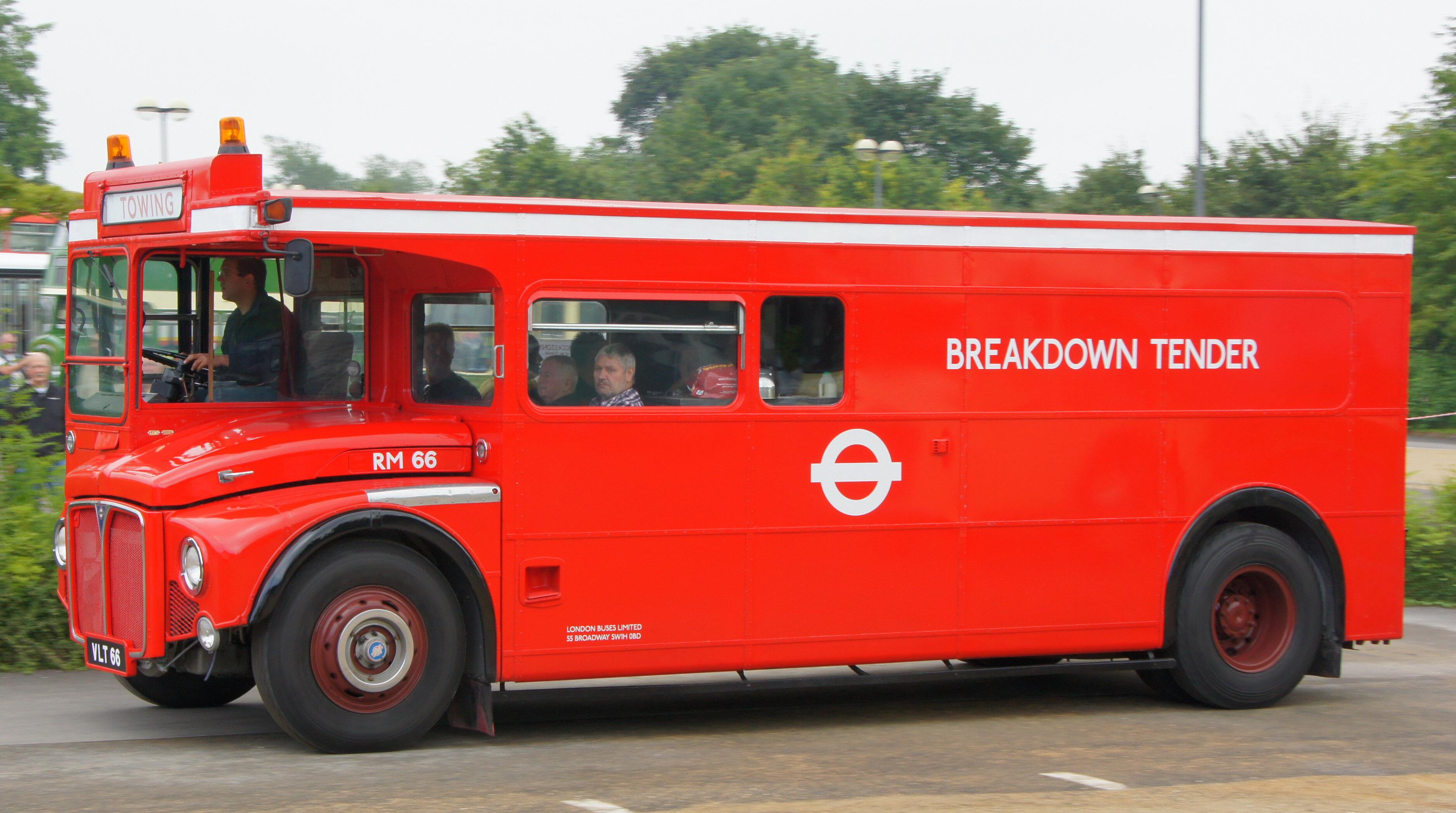 File Routemaster Rm66 Vlt 66 2012 Bristol Vintage Bus