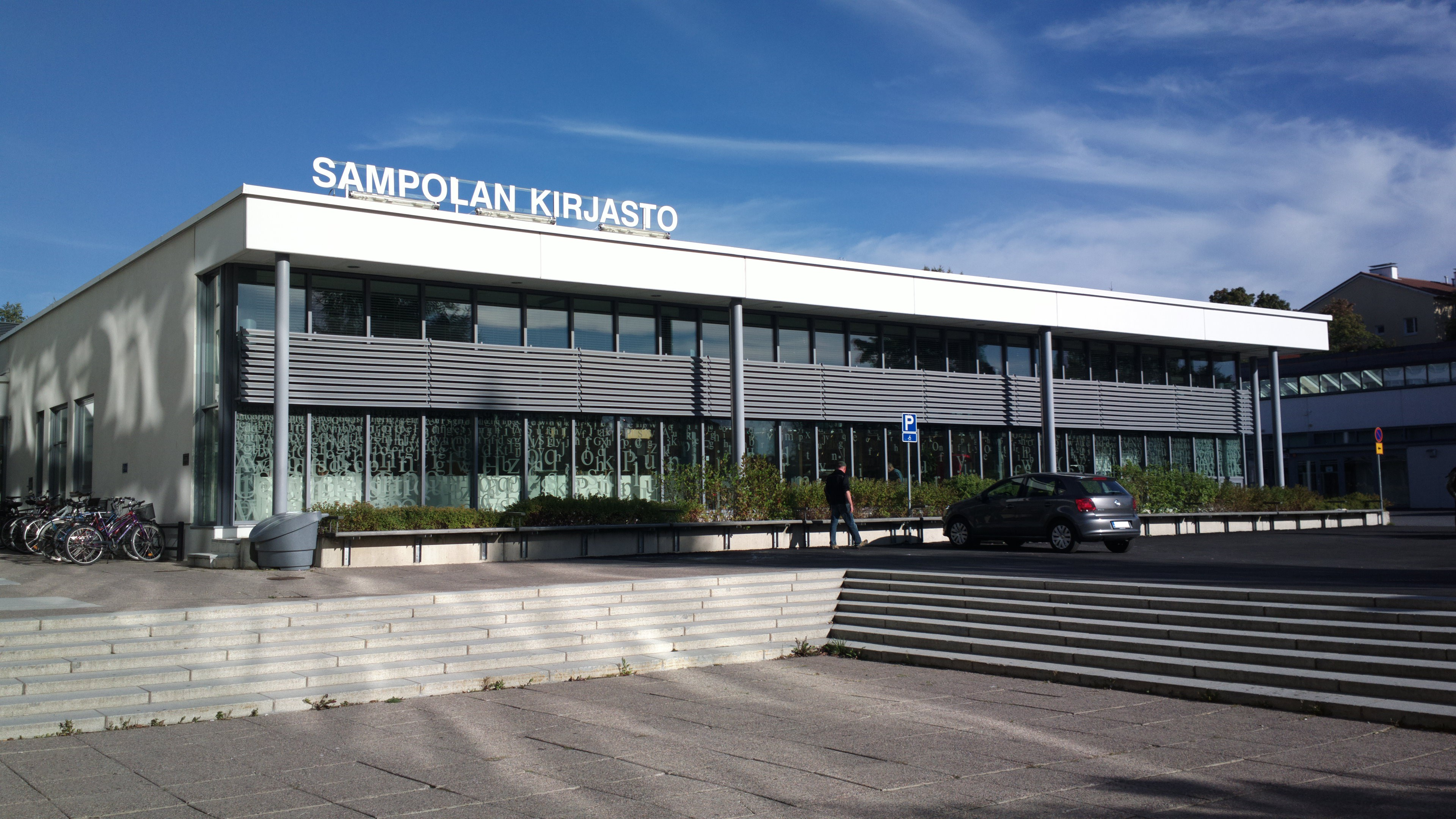 Sampolan kirjasto tietotori