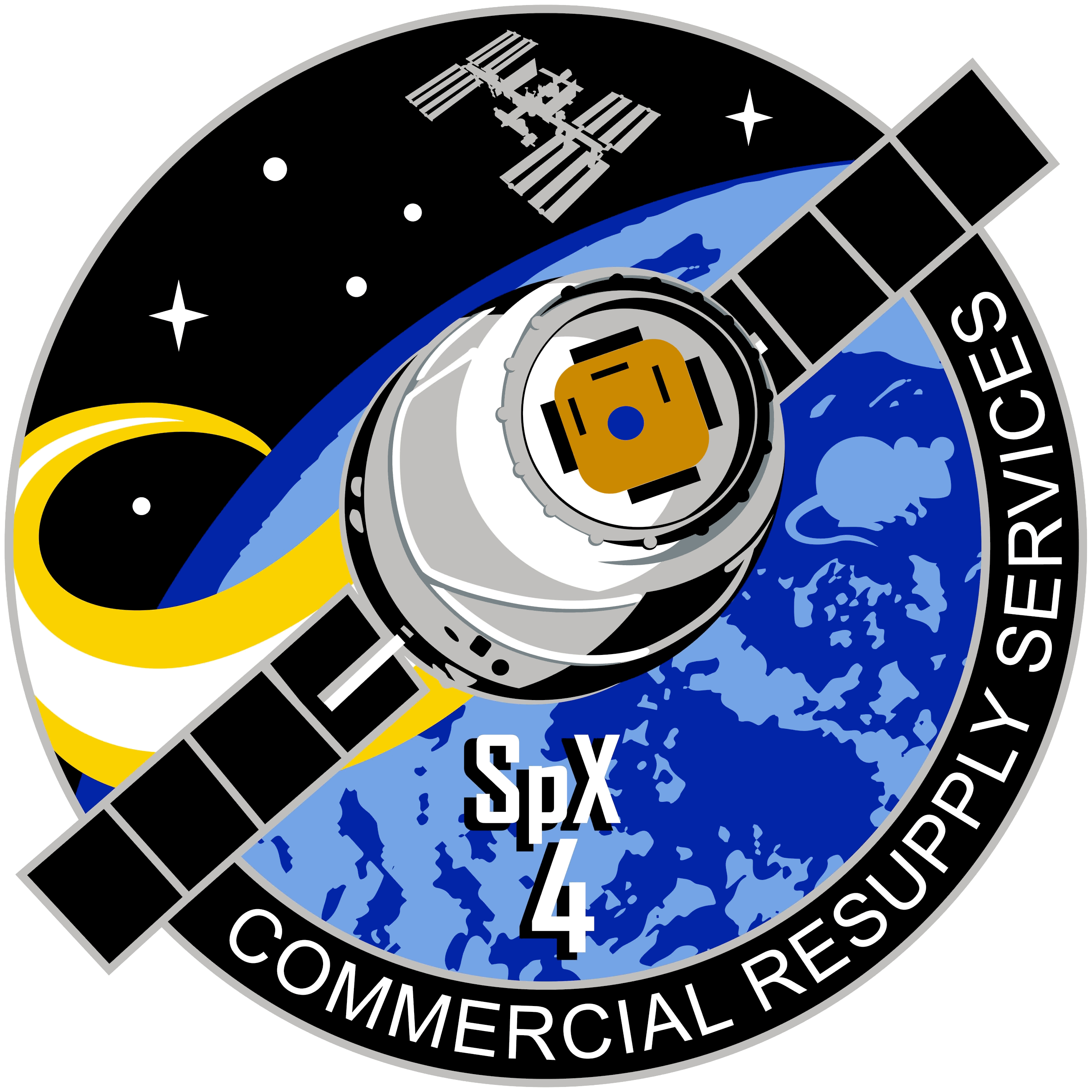 spacex crs 4 logo - photo #1