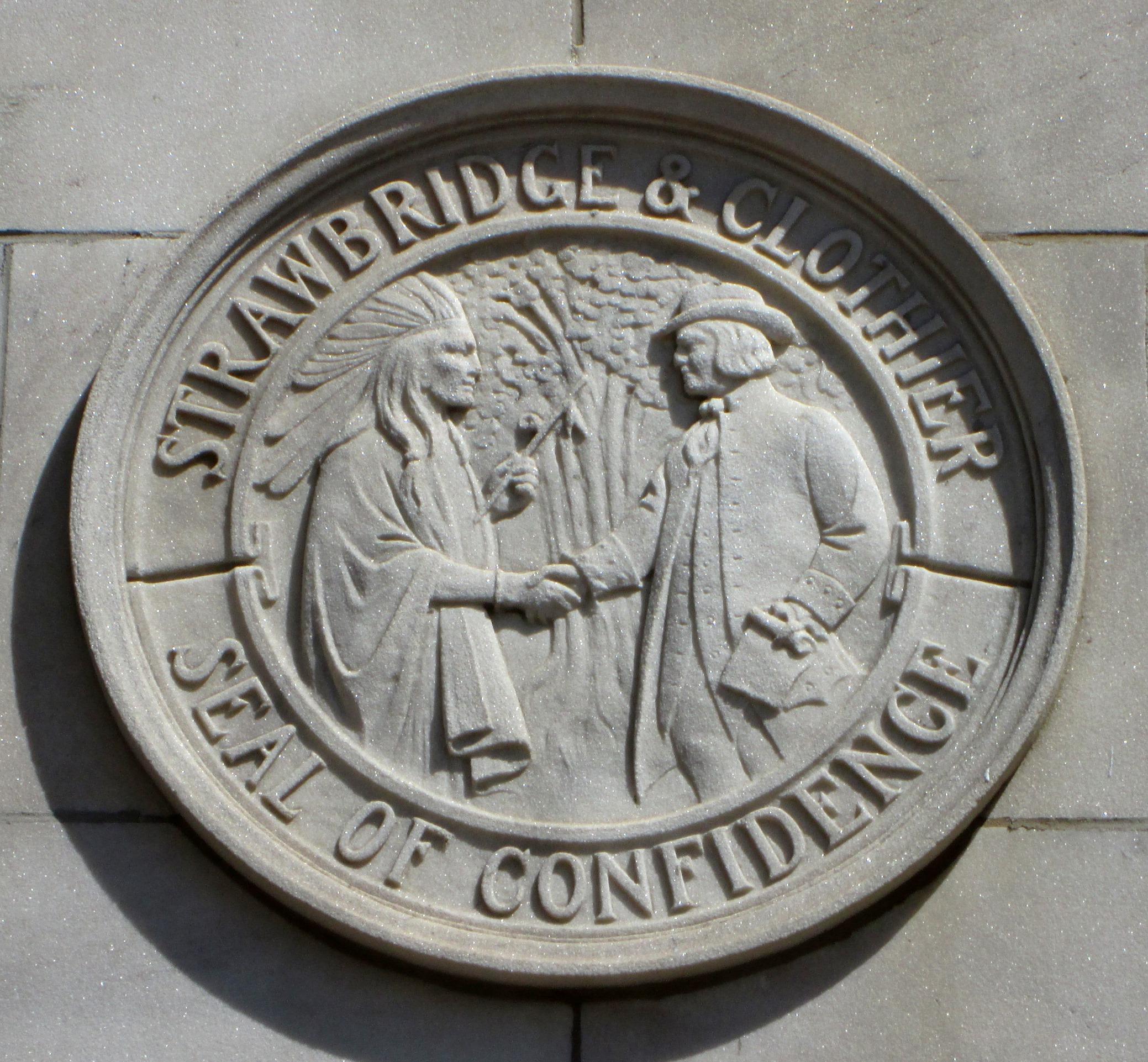 file strawbridge clothier 1897 seal of confidence jpg file strawbridge clothier 1897 seal of confidence jpg