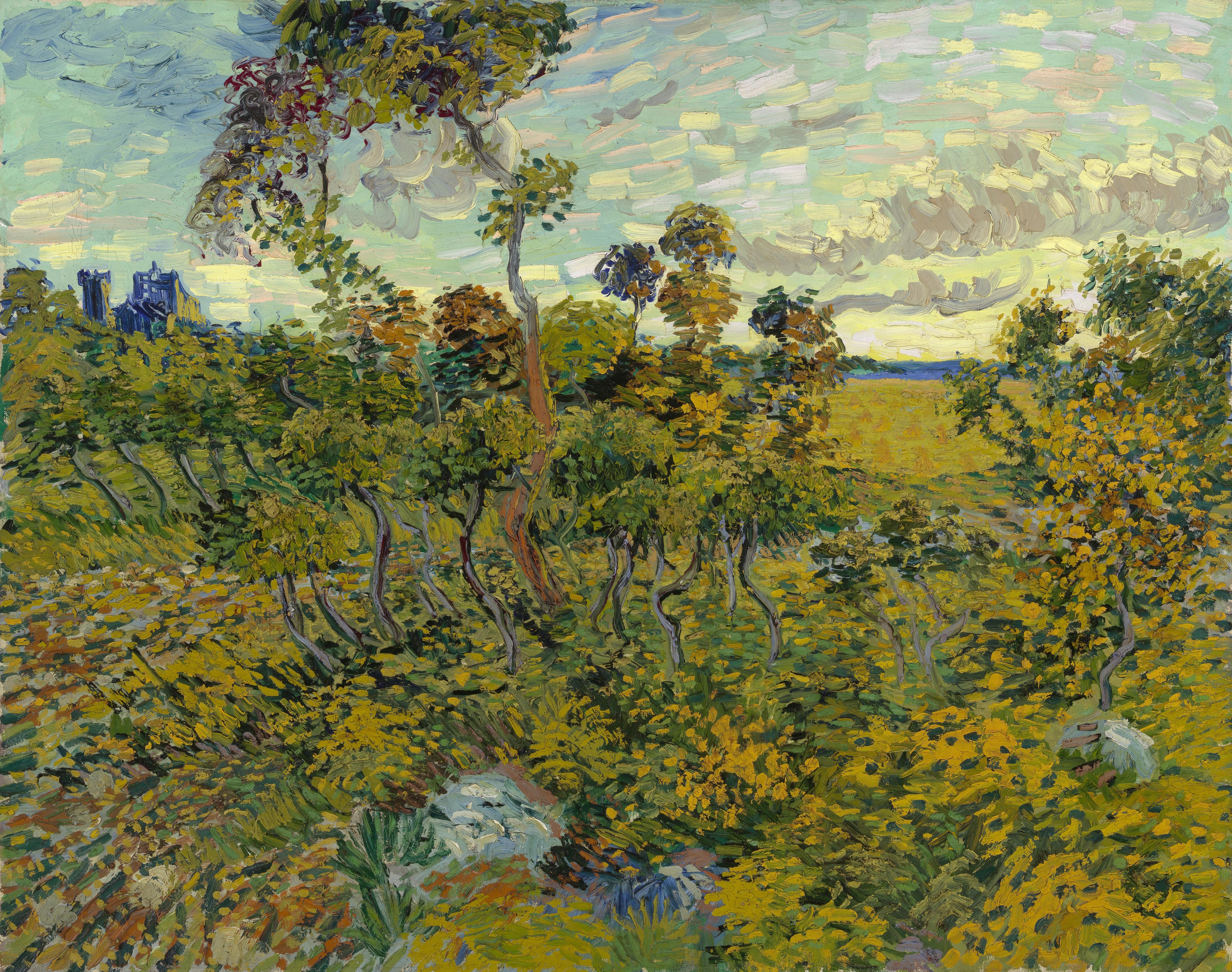 Sunset at Montmajour - Wikipedia
