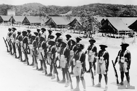 Toress Island soldiers