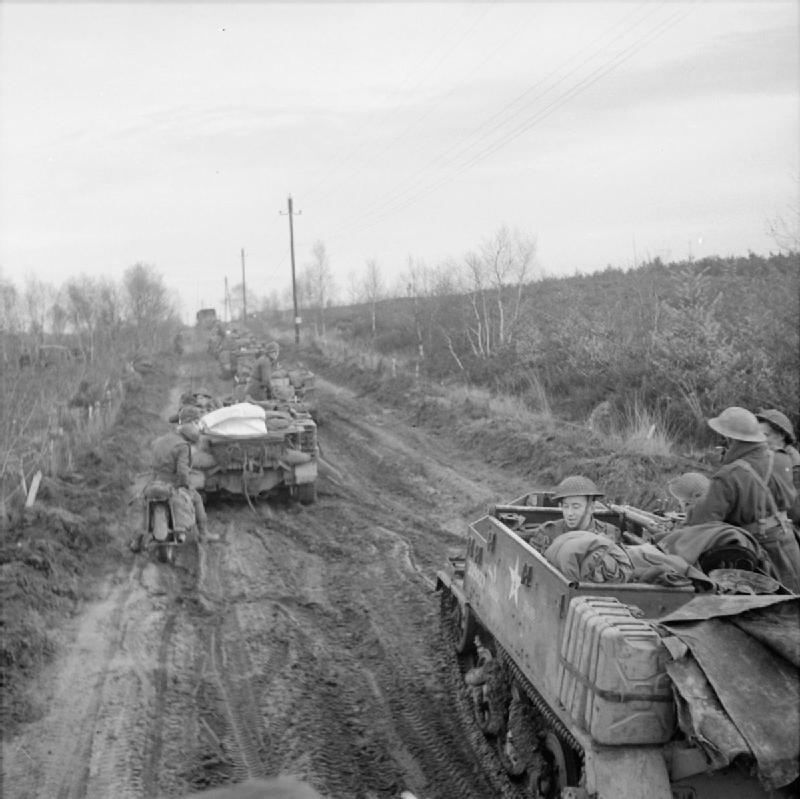 Universal carriers of 43rd Wessex Division