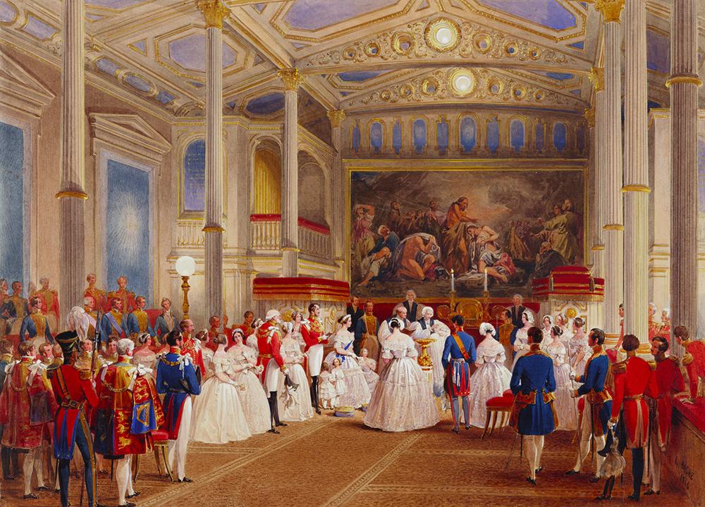 Крещение княгини Елены, 1846 г.