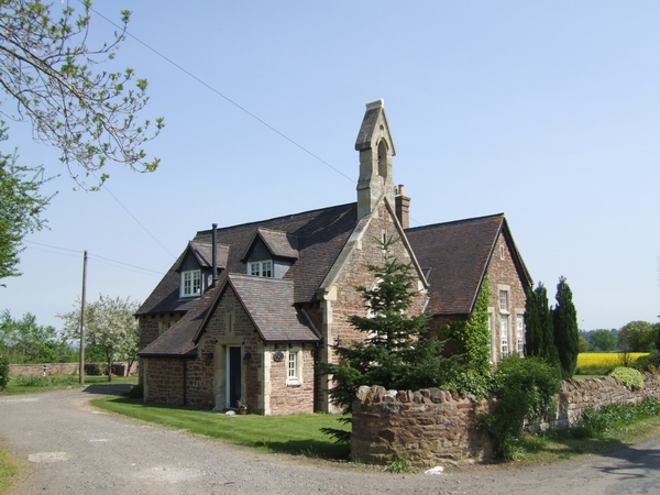 School House, west of Astley Abbotts, Shropshire