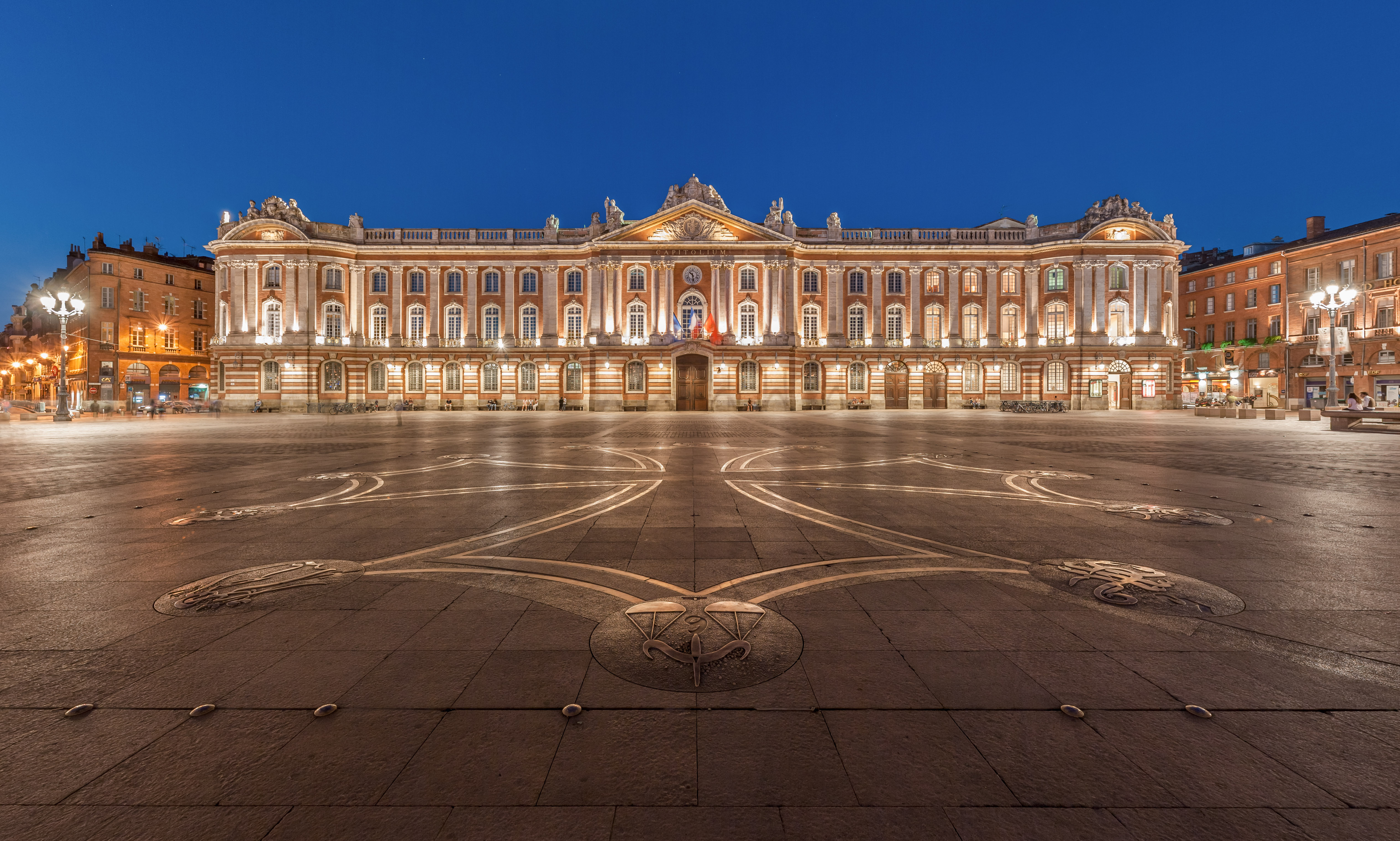 Depiction of Toulouse