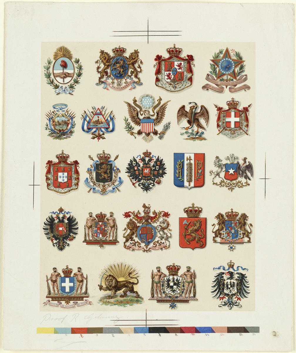 Filetwenty Three Coats Of Arms On One Sheet By Boston Public Library Jpg