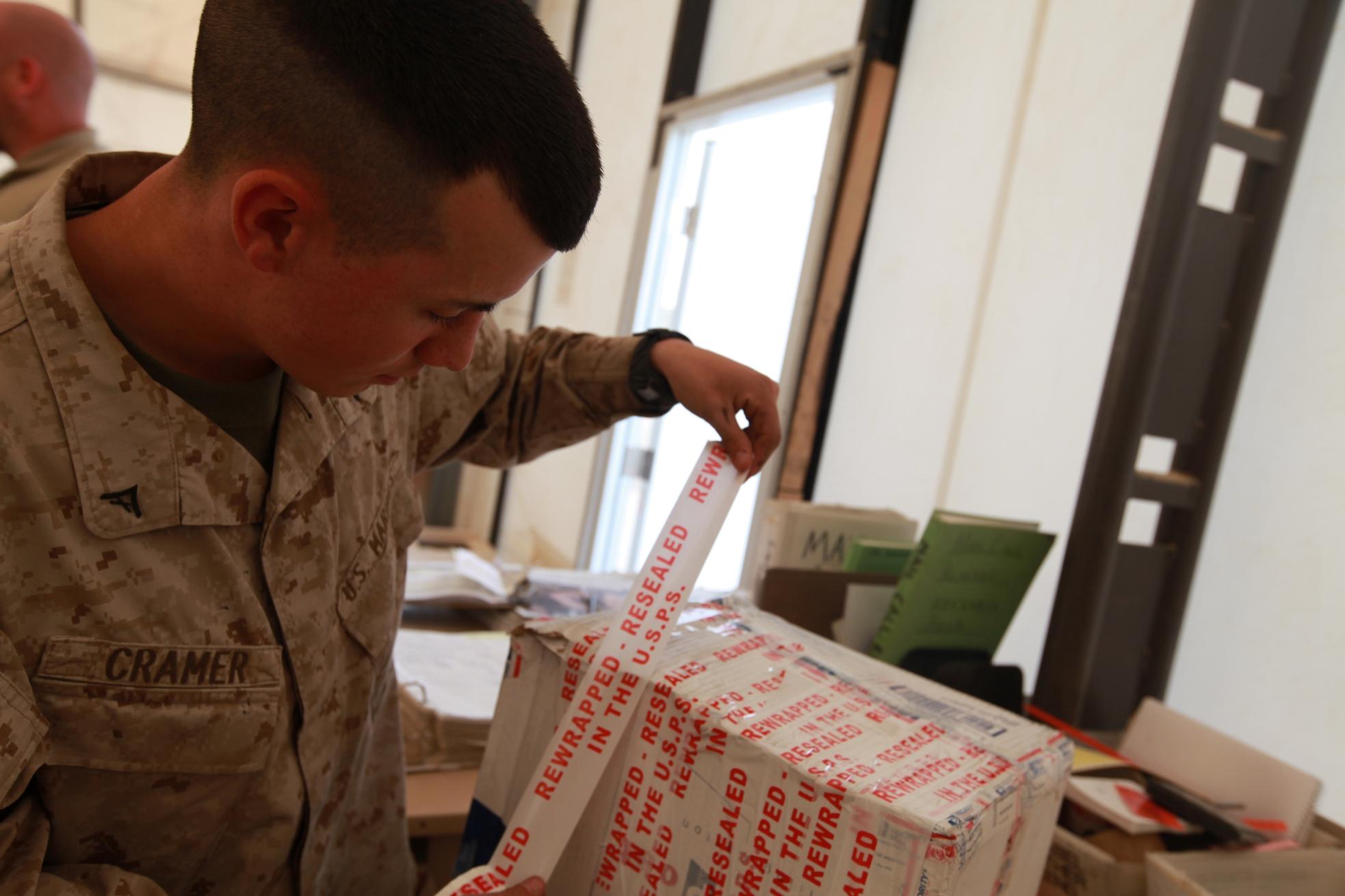 file u s marine corps lance cpl matthew cramer a postal clerk file u s marine corps lance cpl matthew cramer a postal clerk headquarters